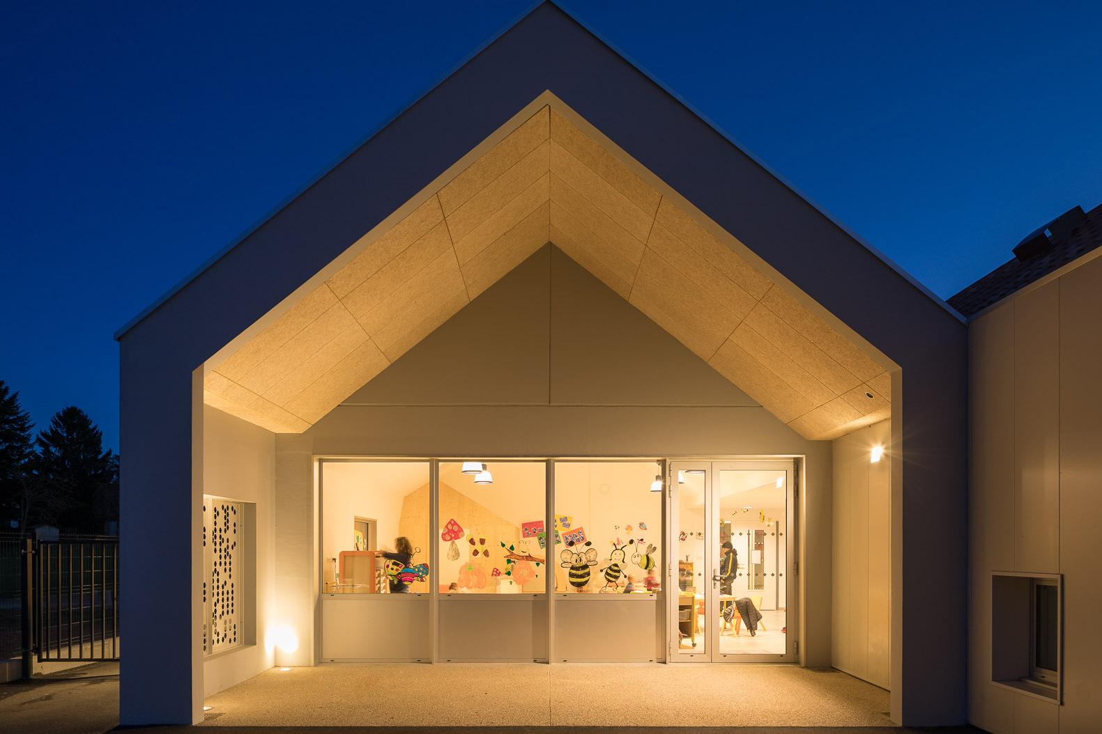 MKH architecte Centre de loisirs Nantes