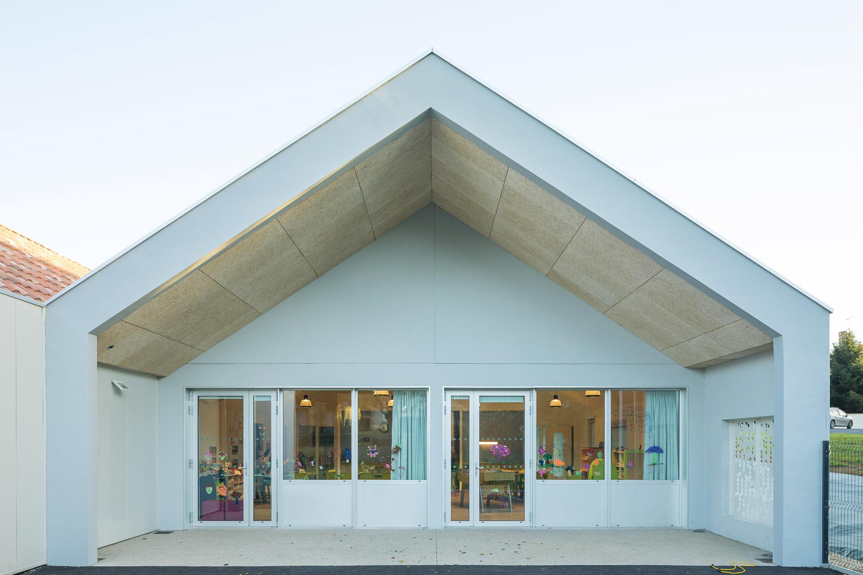 MKH architecte Centre de loisirs Nantes 44