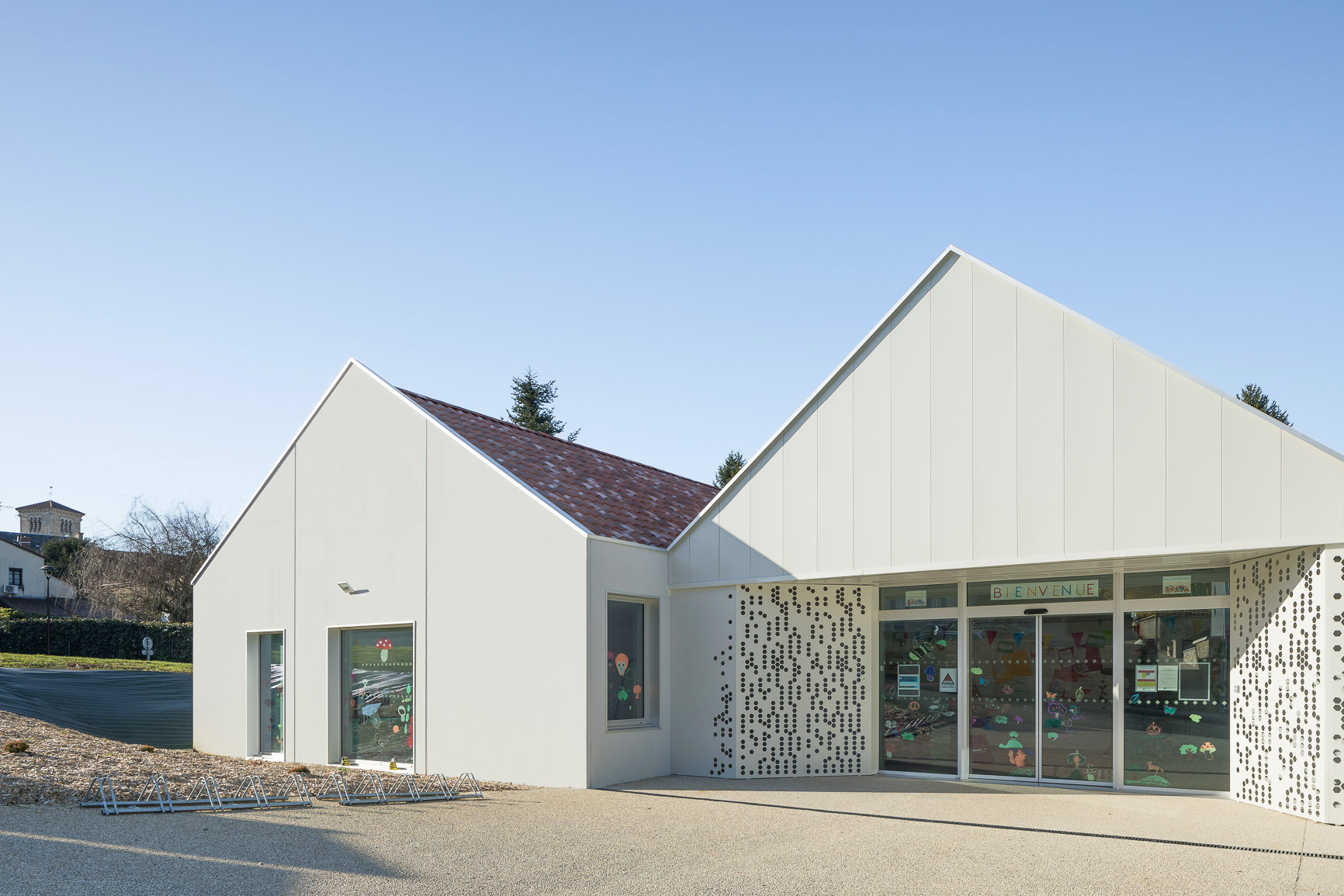 MKH architecte Centre de loisirs maine et loire 49