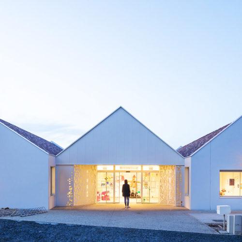 mkh architecte vendée 85 Centre de loisirs La Caillère